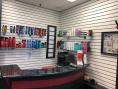 Rootz Hair Salon Dundee, MI Reception Desk and Products
